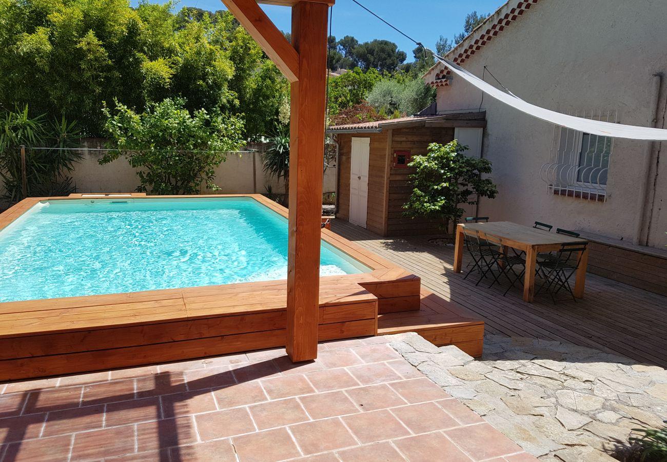 Maison à La Ciotat - La Briandière. Climatisation, piscine, jardin