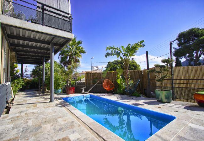 à La Ciotat - Maison Grand Lamiolo. Standing, jardin, piscine