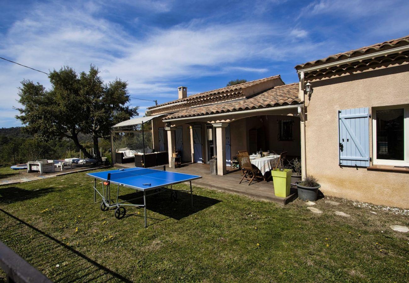 Maison à Rians - Villa Rigaude, climatisation, piscine, nature