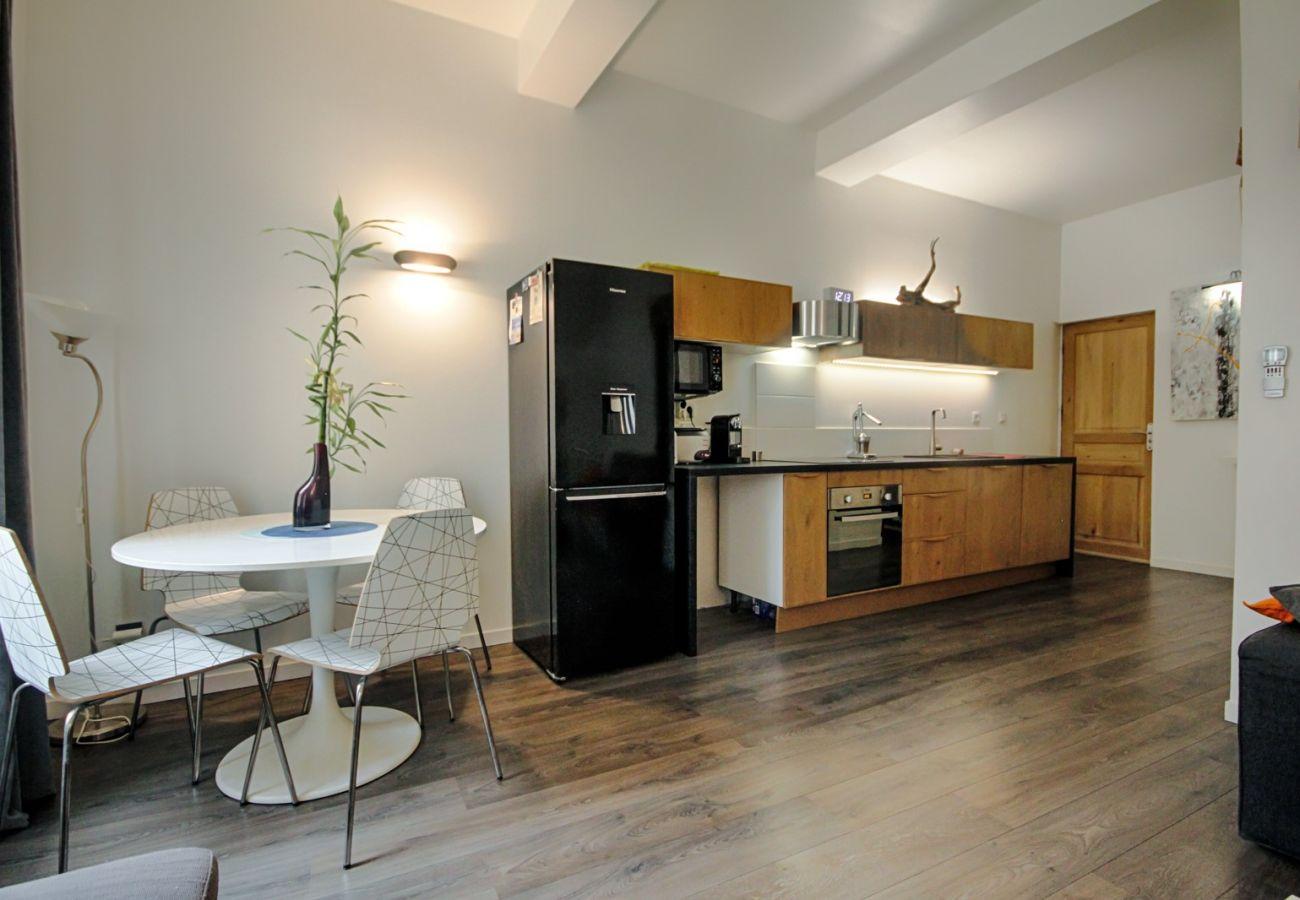 Appartement à La Ciotat - Lèrnio. Idéal pour location courte/moyenne durée