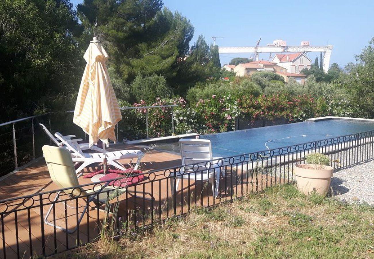 Villa à La Ciotat - Les Restanques , 200m de la mer, piscine, parc