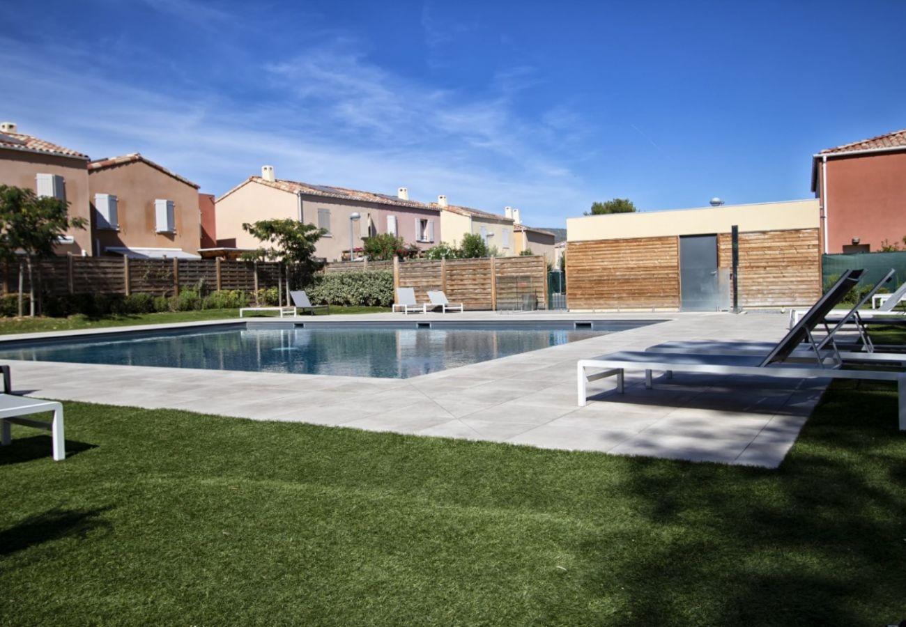 Maison à La Ciotat - Maison Gournau. Climatisation, jardin, piscine